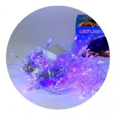 Гирлянда-сетка (Net-Lights) NET180B-1 внутренняя, пров.:прозрачный, 2м (Синий)