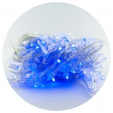Гирлянда-сетка (Net-Lights) внутренняя 120P NET B синий (пров.:прозрачный; 1.3м)