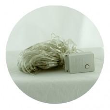 Гирлянда-сетка (Net-Lights) внутренняя 120PICM разноцветная (пров.:прозрачный; 1.3м)