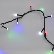 Гирлянда-нить (String-Lights) 400M-4 внутренняя, пров.:черный, 20м (Разноцветная)