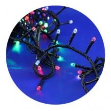 Гирлянда-нить (String-Lights) 500M-4 внутренняя, пров.:черный, 30м (Разноцветная)