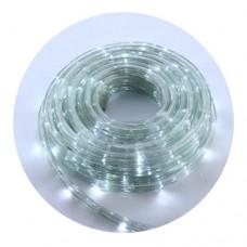 Гирлянда-лента (Pope-Light) W наружная, пров.:прозрачный, 10м (Белый)