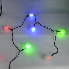 Гирлянда-нить (String-Lights) 40Plastic-1 внутренняя, пров.:черный, 5м (Разноцветная)