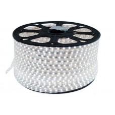 Гирлянда-лента (Rope-Lights) SMD5050-W наружная, пров.:прозрачный, 100м (Белый)