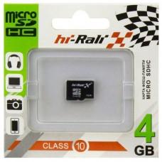 Карта памяти HI-RALI 04GB4