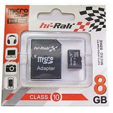 Карта памяти HI-RALI 08GB4 with Adapter