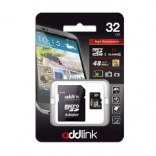Карта памяти ADDLINK 32GB10 with Adapter