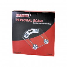 Весы напольные MATARIX MX-451B 180кг (Квадратные)