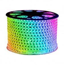 Гирлянда-лента (Rope-Lights) SMD5050-RGB наружная, пров.:прозрачный, 100м (Разноцветная)