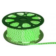 Гирлянда-лента (Rope-Lights) SMD5050-G наружная, пров.:прозрачный, 100м (Зеленый)