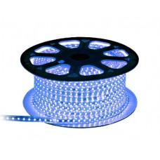 Гирлянда-лента (Rope-Lights) SMD5050-B наружная, пров.:прозрачный, 100м (Синий)